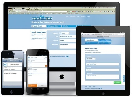 Free online meeting scheduler and event planner app | SelectTheDate | FlutterFETTI | Scoop.it