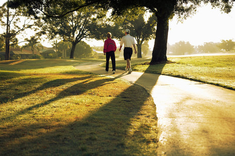 Easing Brain Fatigue With a Walk in the Park | Stress relief techniques | Scoop.it