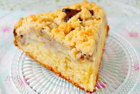 Gâteau croustillant à la banane de Christophe Michalak | Recette Dessert Gâteau & Cake | Scoop.it