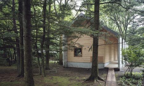 Omizubata N House in the Forest of Karuizawa by Iida Archiship Studio - Homeli | Architecture et Ingénierie bois | Scoop.it