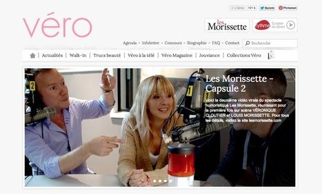 Site officiel de Véronique Cloutier | Beaux sites WordPress | Scoop.it