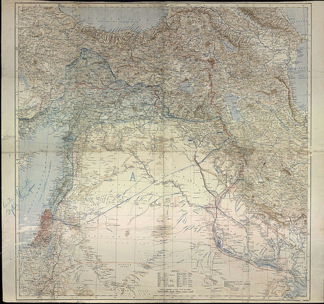 Sykes-Picot (original map) | Middle East Collections | Scoop.it