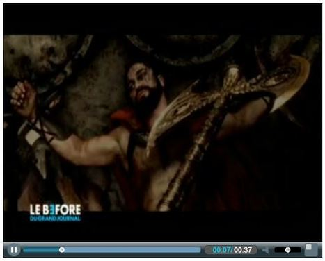 Le Before du GrandJournal - Canal + | 300 : Rise Of An Empire - TV & Web coverage | Scoop.it