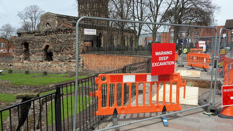 Roman walls, pottery and human remains unearthed in Leicester | Monde antique | Scoop.it