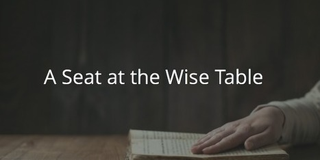 Proverbs 9: A Seat at the Wise Table | Before The Cross | Devotionals | Scoop.it