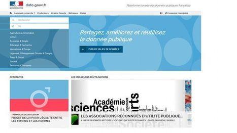 Sur Data.gouv.fr, l'accès aux données publiques devient collaboratif | Logiciels libres,Open Data,open-source,creative common,données publiques,domaine public,biens communs,mégadonnées | Scoop.it