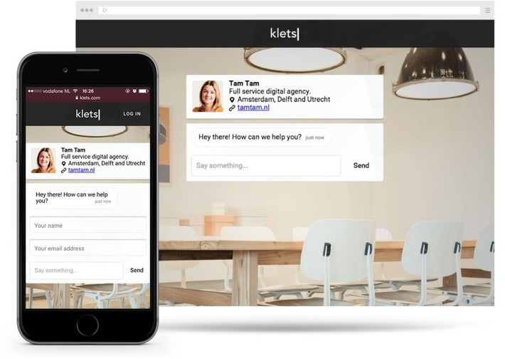 Klets. Une page dédiée pour dialoguer avec vos visiteurs | Solutions locales | Scoop.it