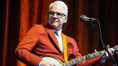 Steve Martin to Receive Prestigious Bluegrass Award | Acoustic Guitars and Bluegrass | Scoop.it
