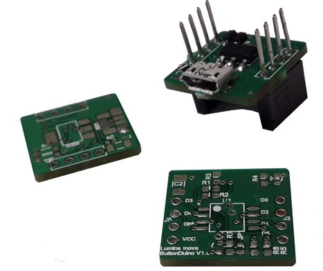 Atmel's ATtiny85 MCU powers ButtonDuino dev board | Arduino, Netduino, Rasperry Pi! | Scoop.it