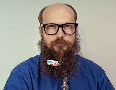 Beardvertising: The next big thing? | Just plain weird | Scoop.it
