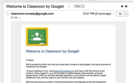 11 Great GOOGLE CLASSROOM Tutorials by Early Access Testers | Classroom Resources | Scoop.it