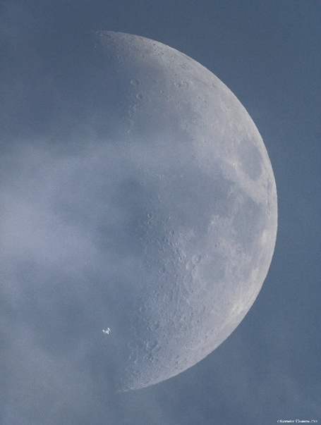 ISS transit over the Moon | Books, Photo, Video and Film | Scoop.it
