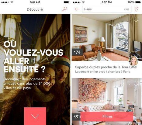 Airbnb met à jour son appli iPhone avec son logo controversé   News, design & co   Scoop.it