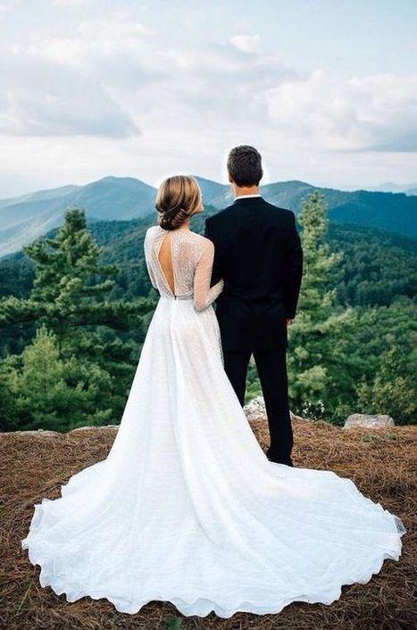 Gorgeous Mountain View Venue Inspiration | Wedding Inspiration | Scoop.it