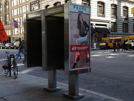 Phone Booth 'Beacons' Track New Yorkers' Movements | facts | Scoop.it