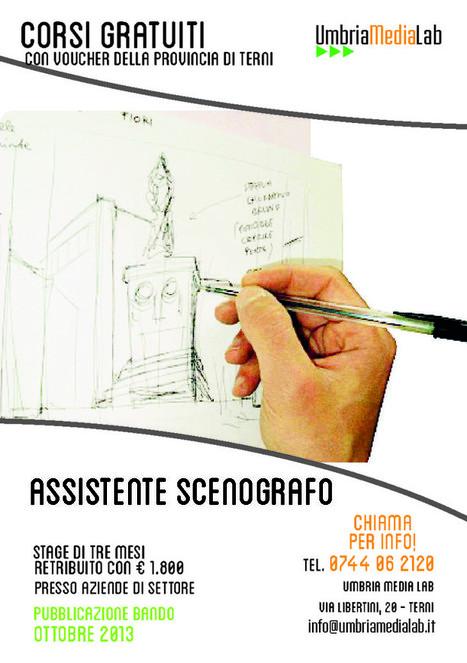 Corso di Assistente Scenografo - Umbria Media Lab   Corsi di formazione a Terni   Scoop.it