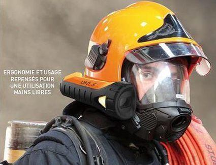 Ektos, un casque à vision augmentée pour aider les pompiers | Innovation et technologie | Scoop.it
