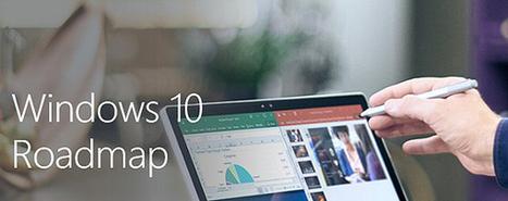 Microsoft pubblica la roadmap di Windows 10, ecco le funzioni in via di sviluppo   sistemi operativi   Scoop.it