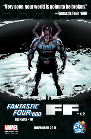 "Marvel Releases Galactus-themed ""Fantastic Four"" #600 Teaser ... 
