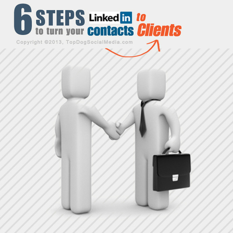 LinkedIn Prospecting: 6 Steps To Turn Online Contacts Into Clients | Professional Networking | Scoop.it