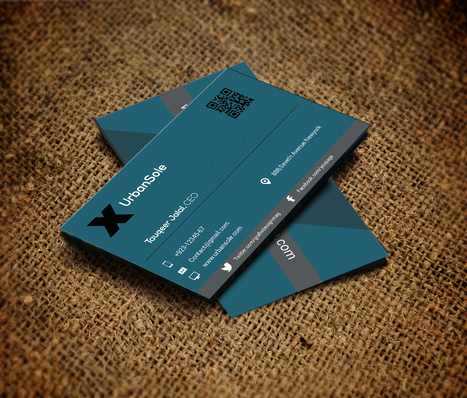 Free High-Resolution Business Card Template PSD Files | MarketingHits | Scoop.it