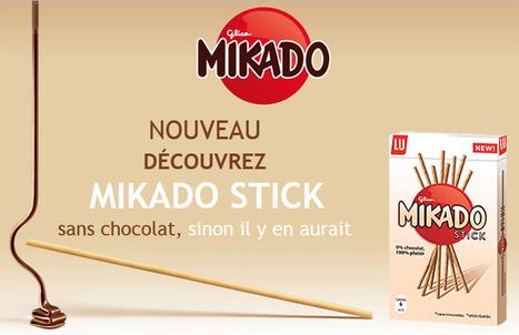 Un stick sans chocolat ? Pour créer le buzz, Mikado tend le bâton pour se faire battre ! - Communication (Agro)alimentaire | Communication Agroalimentaire | Scoop.it