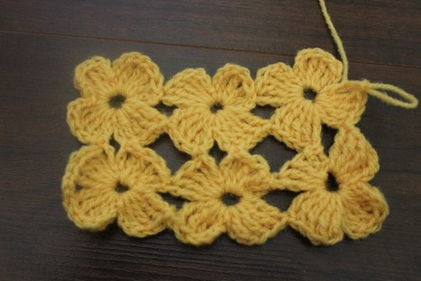 How to crochet The Daisy Stitch | crochet | Scoop.it