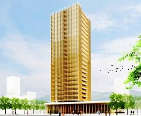 Planean construir un rascacielos de madera de 30 pisos en Vancouver   INGENIERIA CIVIL   Scoop.it