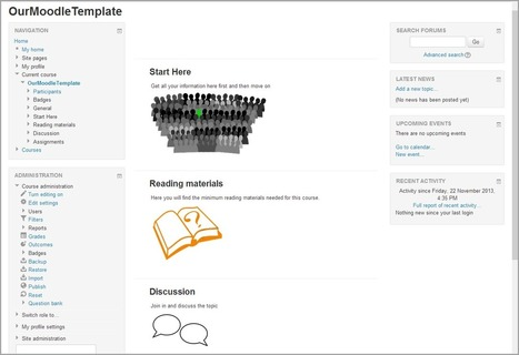 Creating course templates in Moodle 2.6 – Moodle Blog   Moodle   Scoop.it