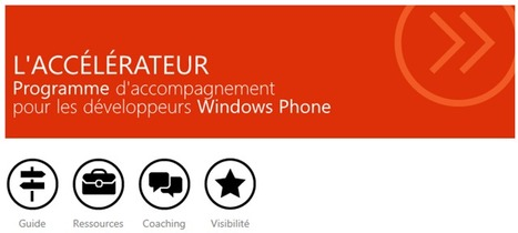 Microsoft vous accompagne pour développer vos applications Windows Phone 7 | Teaching in the XXI Century | Scoop.it