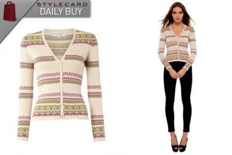 Daily Buy: The Fairilse Cardigan | StyleCard Fashion Portal | StyleCard Fashion | Scoop.it