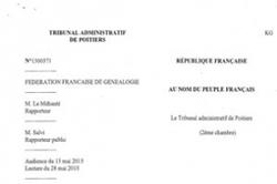 La Fédération de généalogie perd contre le département de la Charente | Rhit Genealogie | Scoop.it