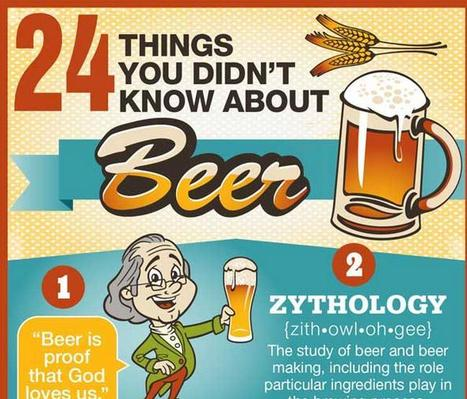 24 Fun Facts About Beer [Infographic] | Public Relations & Social Media Insight | Scoop.it