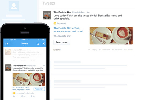 Twitter Gives Advertisers Another Option, Website Cards, To Drive Click-Throughs | Digital-News on Scoop.it today | Scoop.it