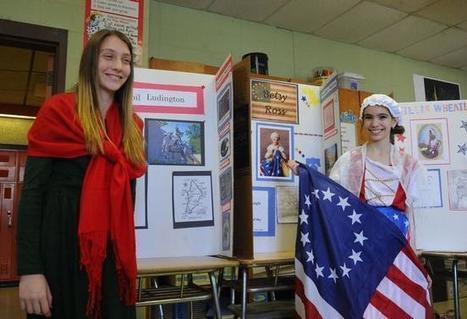Tiverton sixth-graders delve into American Revolution | TMS Rocks! | Scoop.it