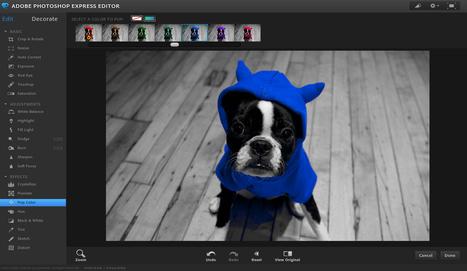 ::: Photoshop Express Editor ::: outil d'édition d'images en ligne (photographie) | CRÉER - DESSINER EN LIGNE | Scoop.it