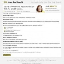 Monthly Bad Credit Loans Get Extra Money For Emergent Needs | Visual.ly | 1500 Loan Bad Credit | Scoop.it
