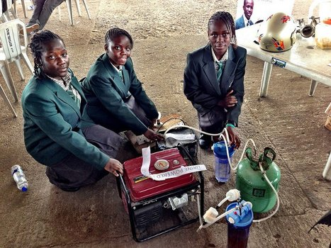 Urine-powered generator developed by teenagers showcased at Maker Faire Africa 2012 | YouthWorkerCircuit | Scoop.it