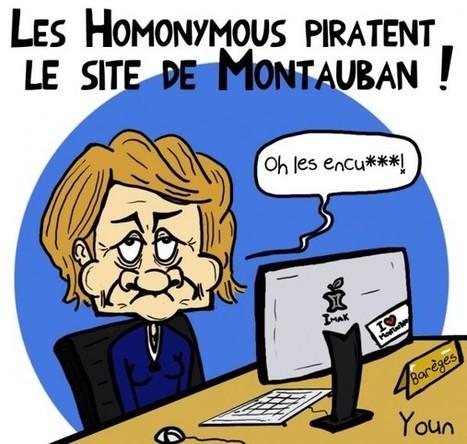 Dessin de la semaine : Brigitte Barèges hackée menu pour ses déclarations sur le mariage homosexuel   Toulouse La Ville Rose   Scoop.it