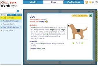 Free Technology for Teachers: Four Visual Dictionaries and a Thesaurus for Kids | Technology and language learning | Scoop.it