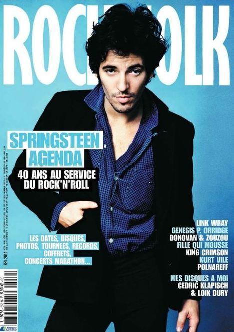 Mais quel journaliste de Rock & Folk a serré la main de Bruce Springsteen ? - le Blog Bruce Springsteen   Bruce Springsteen   Scoop.it