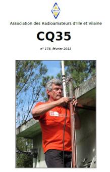 CQ35 No. 178 février 2013   Ham Radio France   Scoop.it
