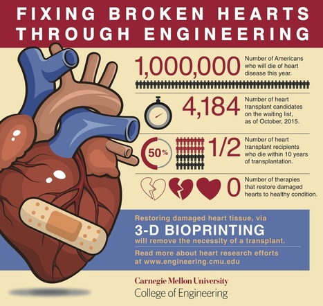 How to 3-D print a heart | KurzweilAI | Science And Wonder | Scoop.it