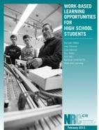 Work-Based Learning Opportunities for High School Students | NRCCTE | Education & Agriculture | Scoop.it