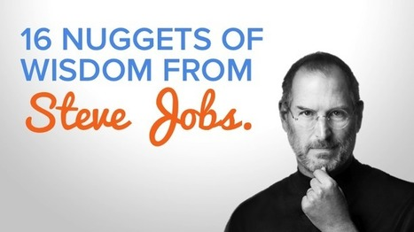 Inspirational Quotes From the Late, Great Steve Jobs [SlideShare] | Technology in Art And Education | Scoop.it