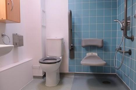 Douche sécurisée : la salle de bain pour handicapés et seniors   Prix moyens, conseils et devis salle de bain   Scoop.it