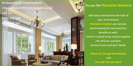 PromiseShutters-Brisbane-Gold Coast | Promise Shutters Australia specialises in Plantation Shutters | Scoop.it