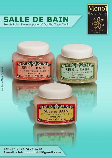 Sels de bain 3 parfums par Aloha Monoi Factory | Products by Aloha Monoi Factory | Scoop.it