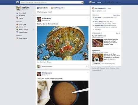 Facebook News Feed Layout and Update: Social Network Scraps Drastic News ... - Latin Post | Facebook | Scoop.it
