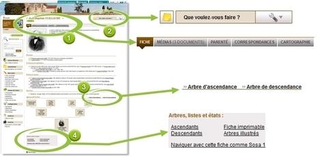 Découvrez la nouvelle navigation dans les arbres généalogiques ! - Le Blog Généalogie - Toute l'actualité de la généalogie - GeneaNet   Genéalogie   Scoop.it